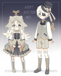 Adopt auction 83 [closed] Clockwork dolls by JeffreyAdopts