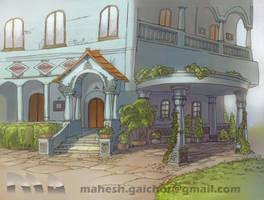 TV add background by mrgaichor