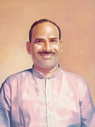 Juvekar Kaka Portrate by mrgaichor