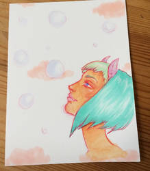 Pastel Demon by Atomicbellyroll