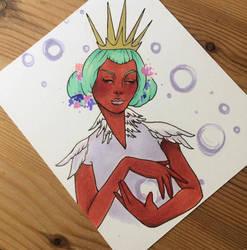 Swan Queen by Atomicbellyroll