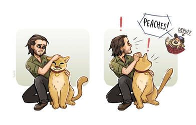 Peaches (Far cry 5) by Yodeki