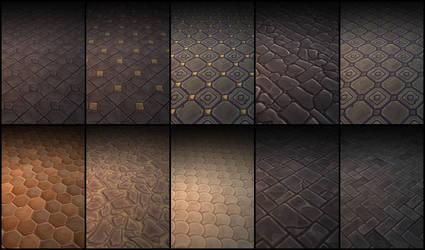 Floor Textures Pack 01 by P3rz1k