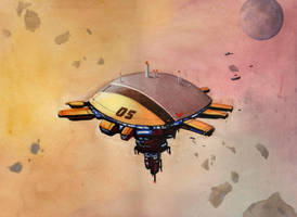Homeworld II - Vaygr Station by Shrinking-Universe