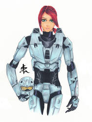 Agent Carolina by Palulukan