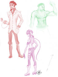 Character design by MrAnderchong