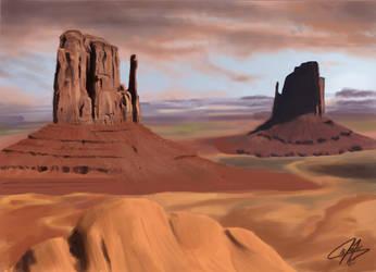 Desert by MrAnderchong