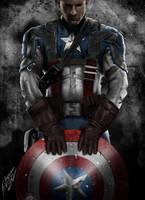 Captain America! by QuaintArt