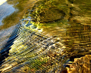 Water waves interference by Bideven