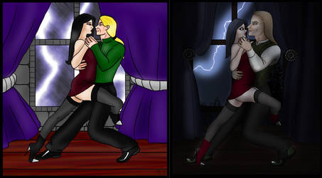 Tango before and after. by Shadowglove