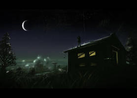 Interstellar visitor by Dekus