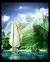 The paradise of seven seas by Dekus