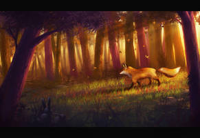 Warmth of the forest by Dekus