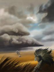 Gideon and Vetru by fiachmara