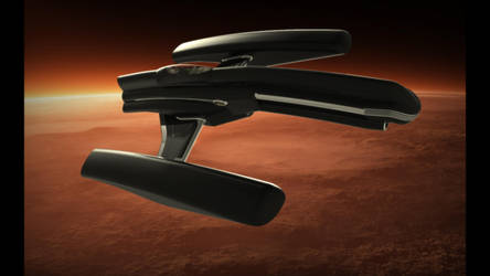 Mars Racer by retromaniak