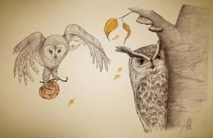 Owltober by fuchskauz