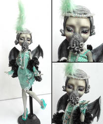 20s Chtulhu - Rochelle Goyle custom by fuchskauz