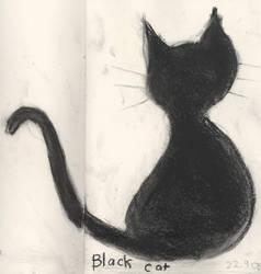 Black Cat by smilinweirdo