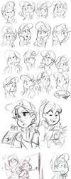 Gravity Falls Stuff 2 by sharkie19