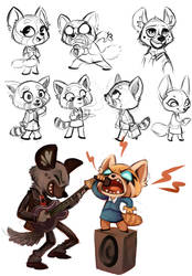 Aggretsuko by sharkie19