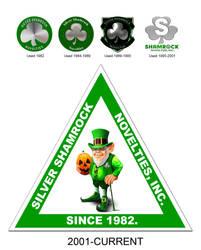 Silver Shamrock Logo History by FearOfTheBlackWolf