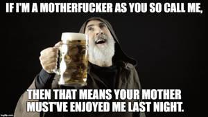 eSults: Bearded Friar With Mug Full of Beer by FearOfTheBlackWolf