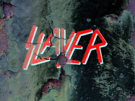 Rusted Slayer Logo by FearOfTheBlackWolf