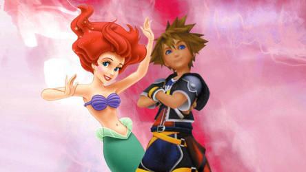 Ariel + Sora (Sorariel) by FantasticalWonder