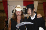 Duo and Scott McNeil - 2005 by lameasscosplayer