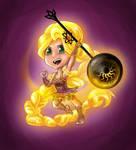 Puella Magi Rapunzel redo by HollyRoseBriar
