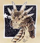 Star Dragon by HollyRoseBriar