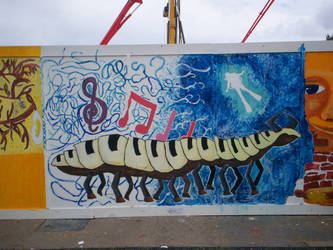 Art project - Centipede by Holsmetree