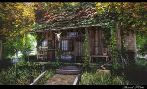 Western House Render by AhmadTurk