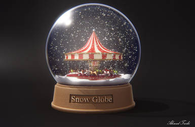 Snow Globe Render by AhmadTurk