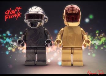 Lego Daft Punk by AhmadTurk