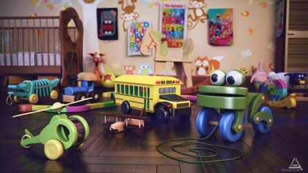 Toys Render by AhmadTurk