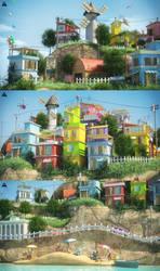 Island Close Up Shots by AhmadTurk
