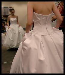 Wedding Dress by panderbear