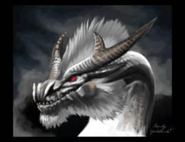 White Fatalis Speedpaint by Araless