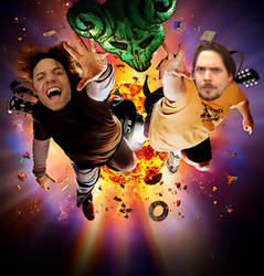 Game Grumps - StarBomb In The Pick Of Destiny! by TommEdge4Life