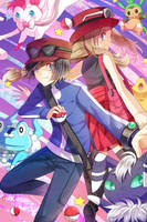 Pokemon XY by bunpurr