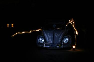 VW Lantern Light by outlawalice