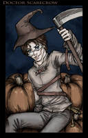 Dr. Scarecrow by loonylucifer