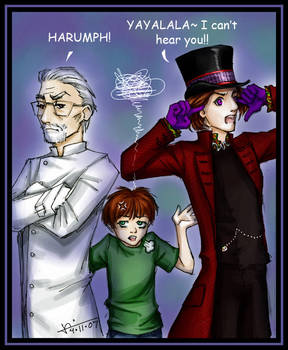Wonka Family Feud by loonylucifer