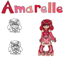 Gilsterverse Amarelle Di Cremisi by NatariSaru