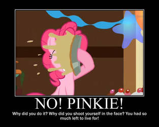 Pinkie Pie Motivational by CrossoverPrincess