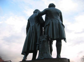 Goethe And Schiller by RadioSolo
