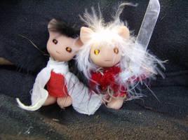 Inuyasha and Kagome by RuthLampi