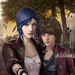 Chloe x Max - Life.is.Strange by DemonLeon3D