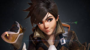 Overwatch - Tracer by DemonLeon3D